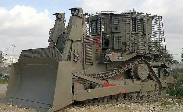 army bulldozer